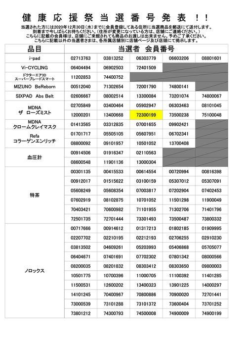 健康応援祭 当選者POP 2020 店舗NO 701-759(56含む)2.jpg
